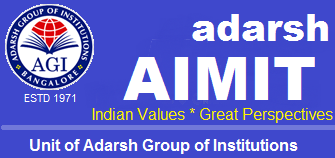 Adarsh AIMIT Bangalore